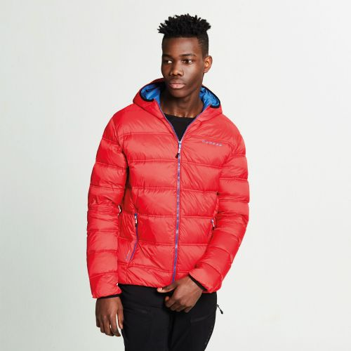 Dare2b MEN'S DOWNTIME DOWN FILL JACKET - Code Red